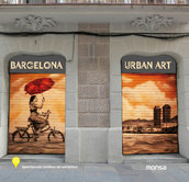 BARCELONA URBAN ART              Spectacular outdoor art exhibition